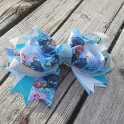 Frozen Girls Hair Bows